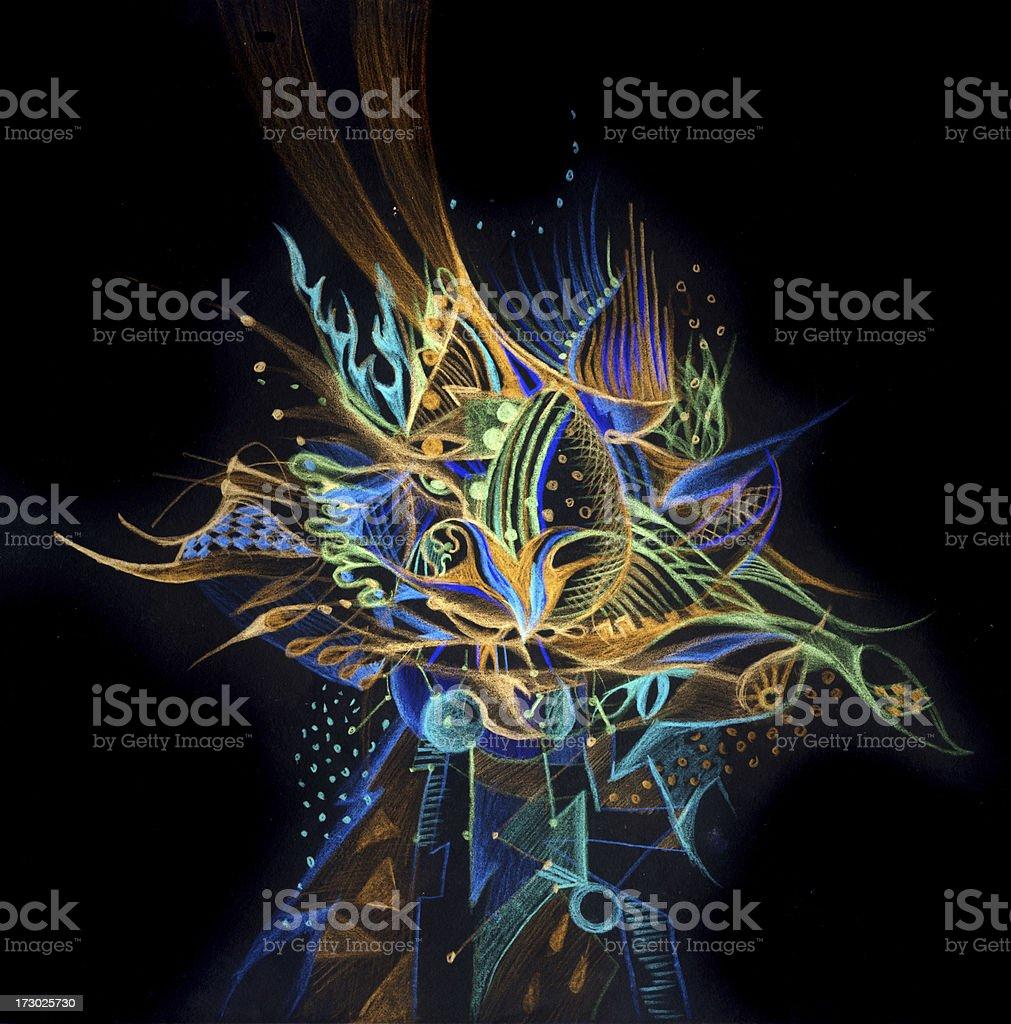 cosmic egg royalty-free stock vector art