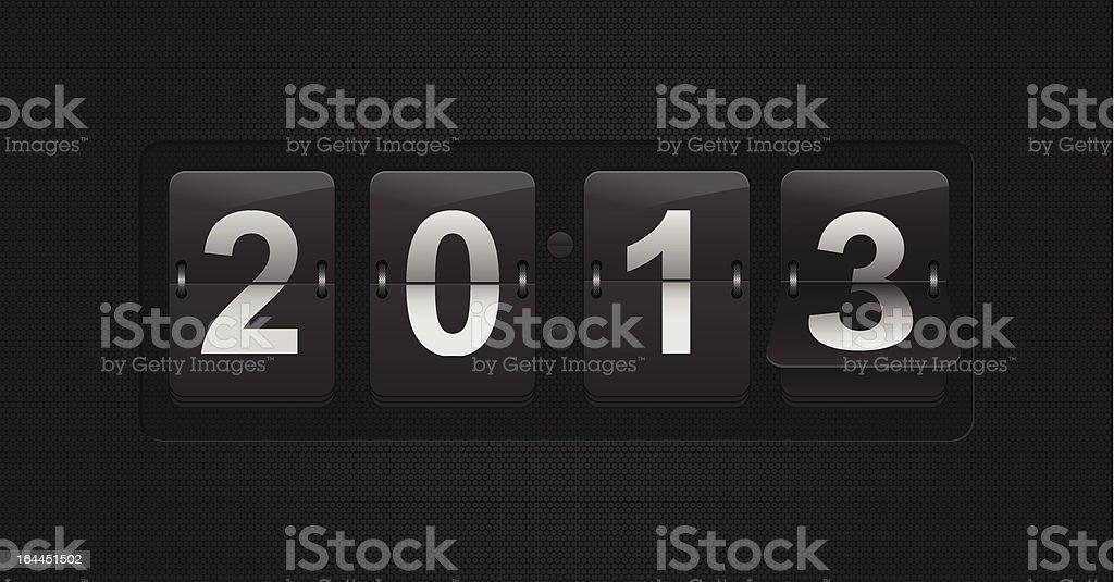 Countdown royalty-free stock vector art