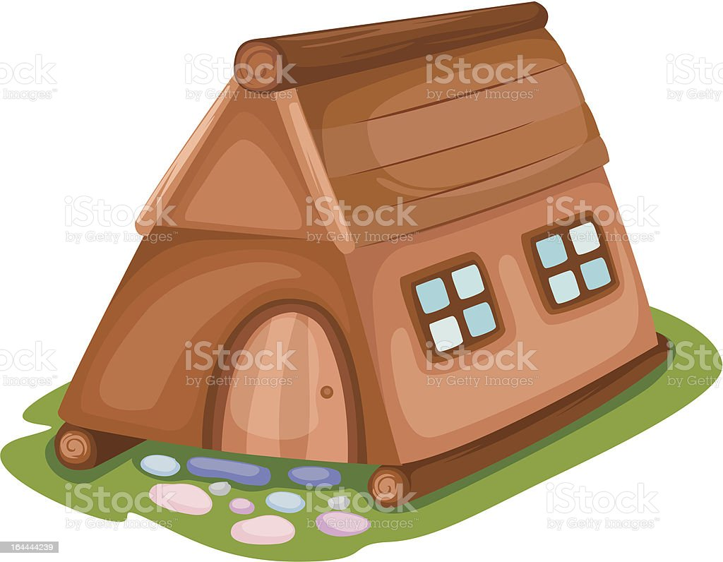 Country house royalty-free stock vector art