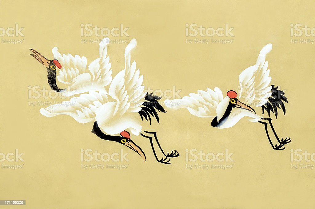 crane royalty-free stock vector art