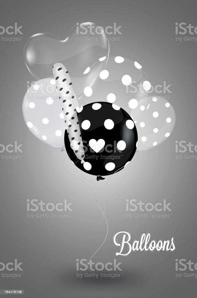 Creative balloon royalty-free stock vector art