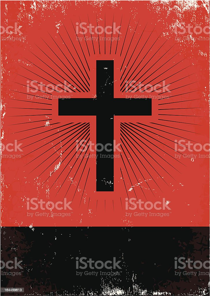 Cross royalty-free stock vector art