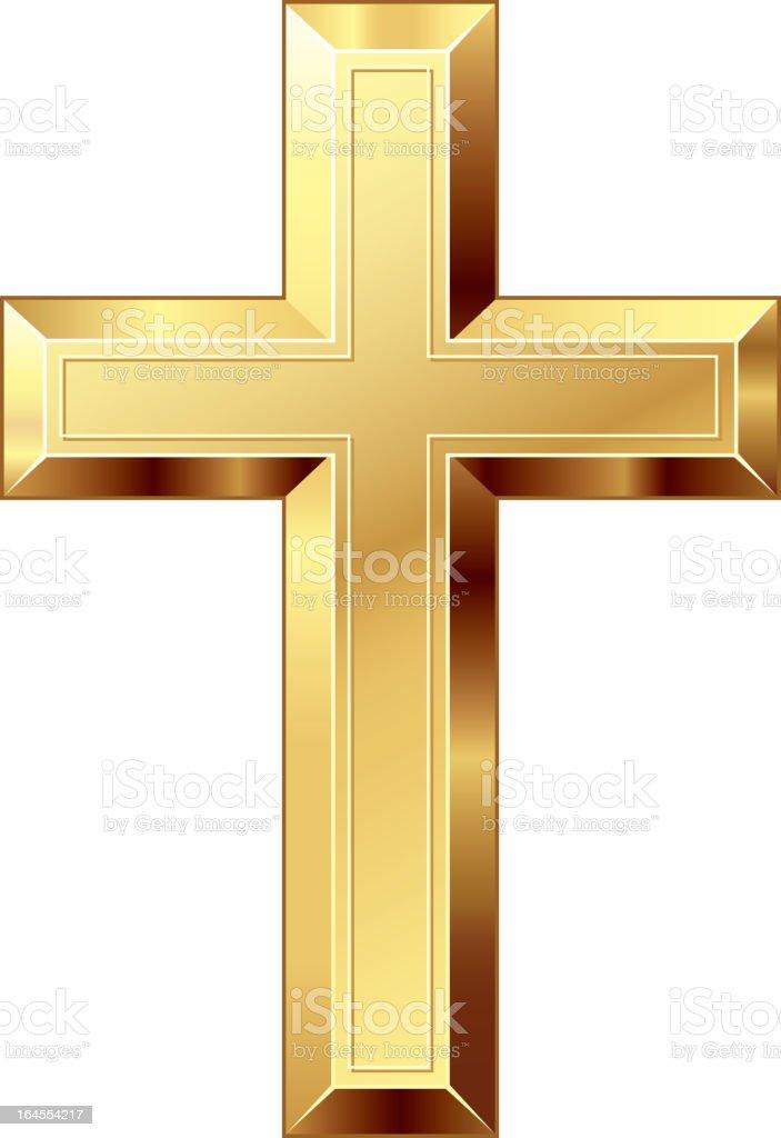 Cross royalty-free stock vector art
