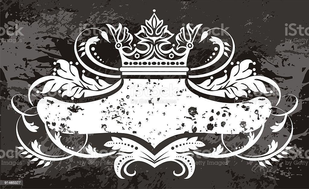 crown logo royalty-free stock vector art