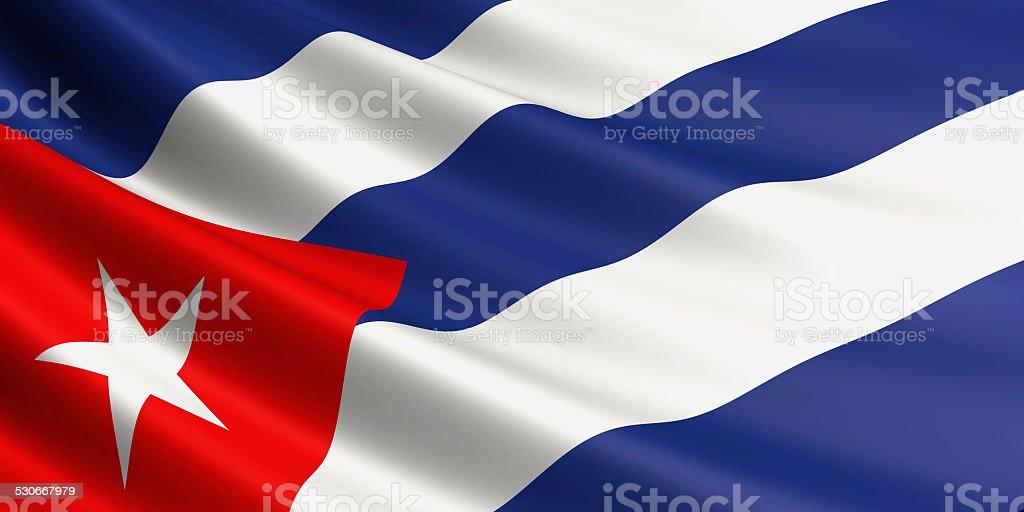 Cuban flag. royalty-free stock vector art
