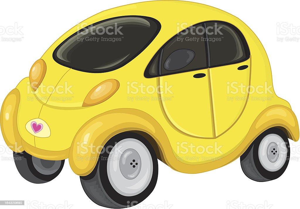 Cute car royalty-free stock vector art