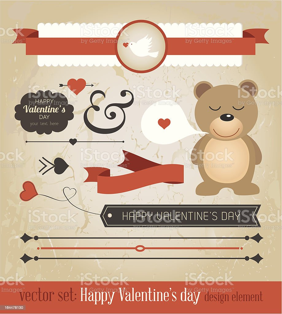 Cute Vector Element for your design royalty-free stock vector art