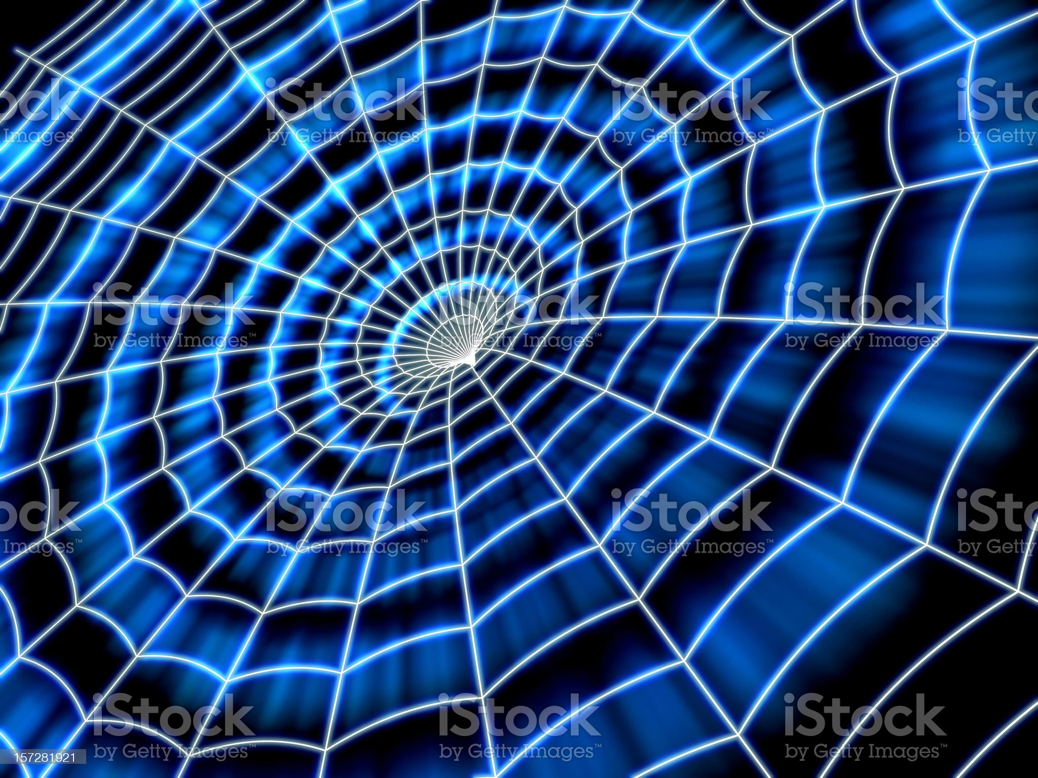 cybernetic web royalty-free stock vector art