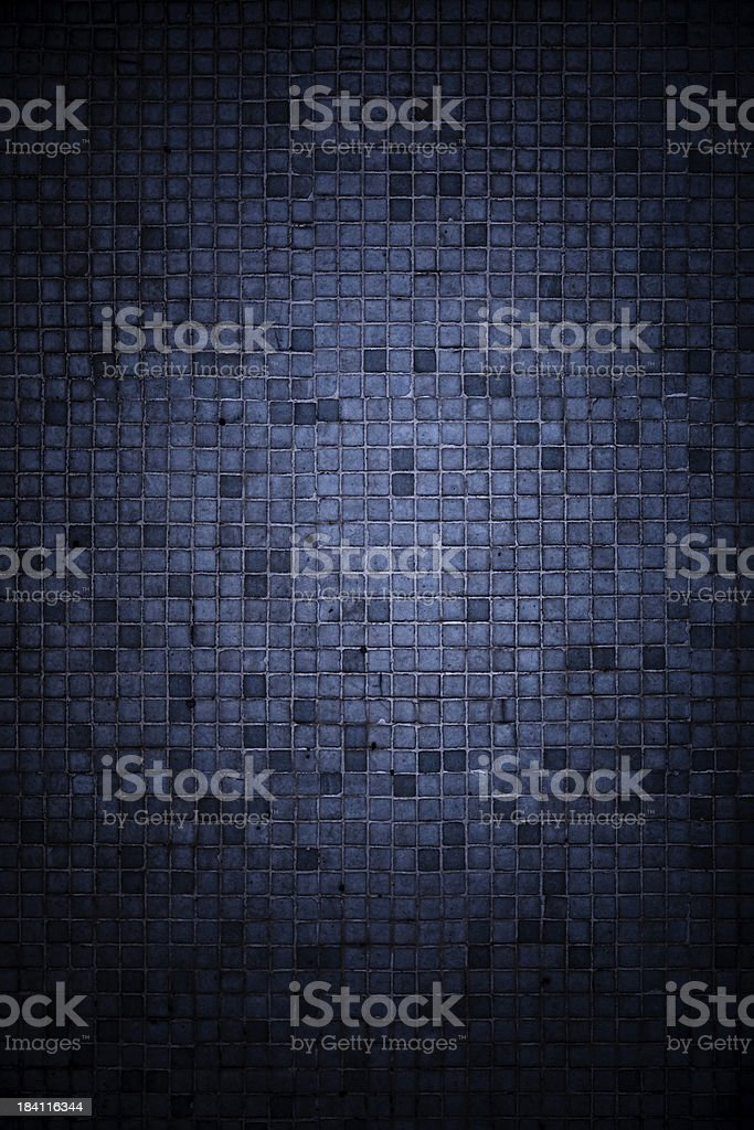 Dark tiled background vector art illustration