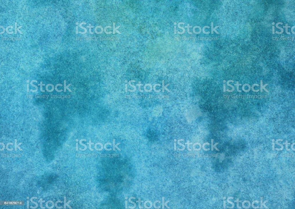 Dark turquoise mottled textured background vector art illustration