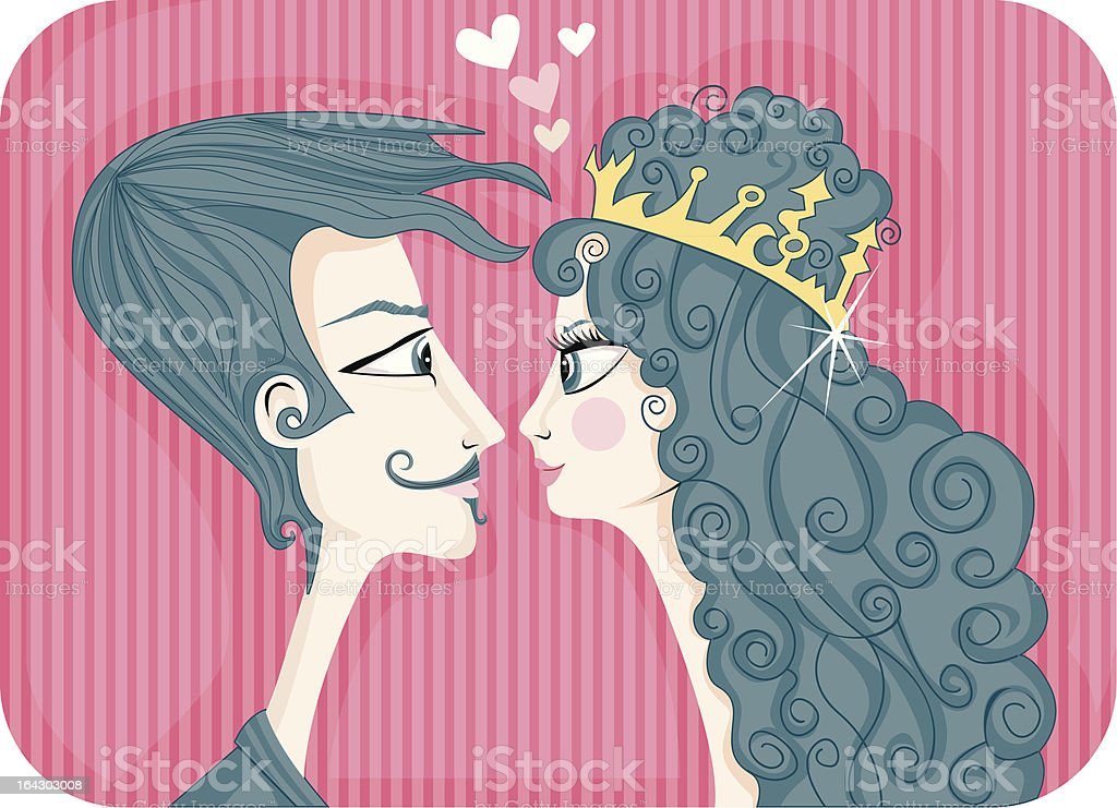 darling royalty-free stock vector art