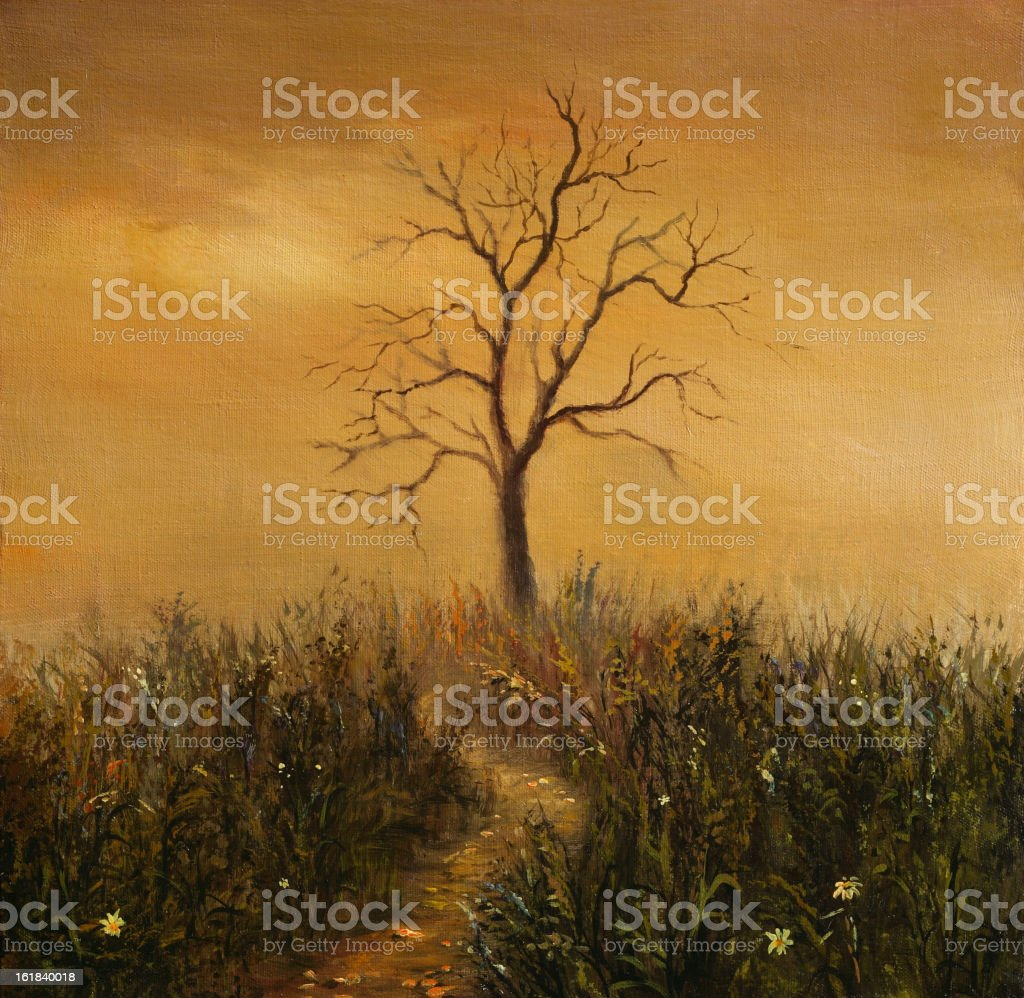 dead-wood royalty-free stock vector art