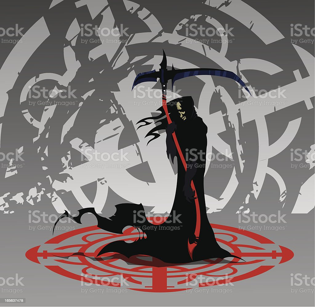 Death royalty-free stock vector art