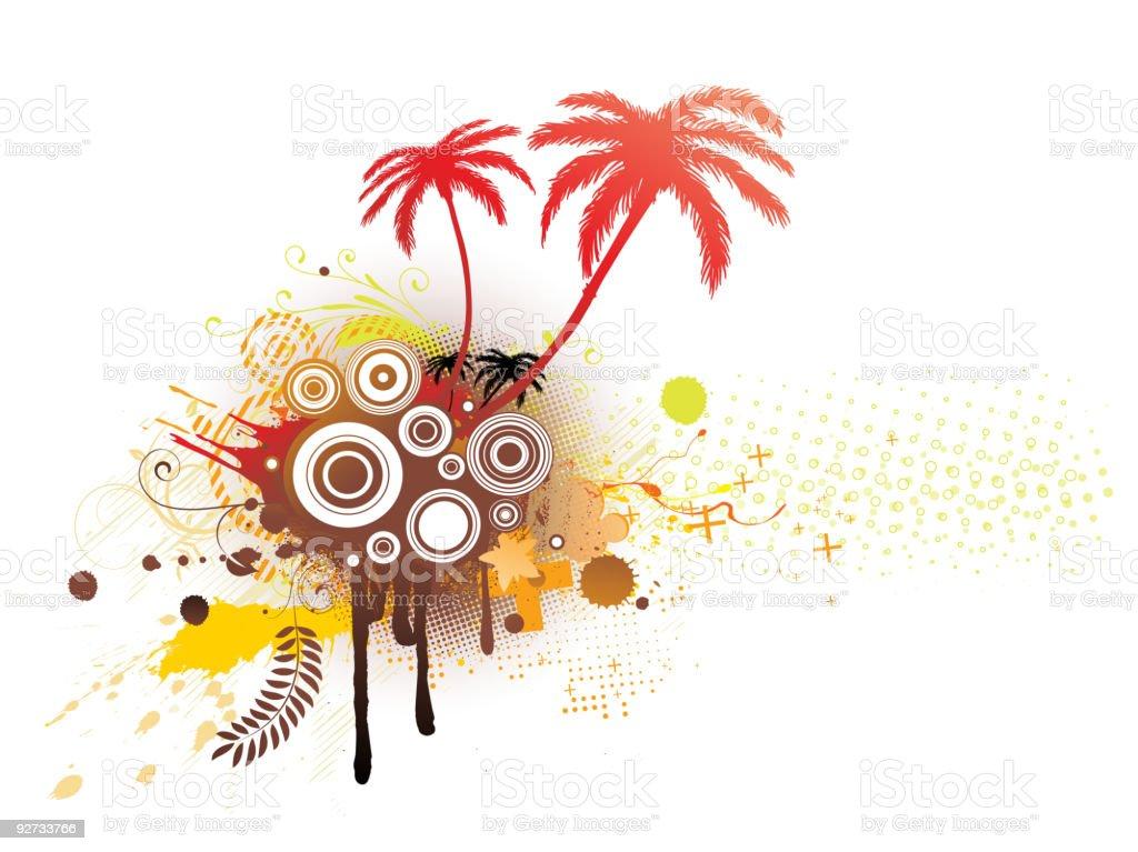 decorative background royalty-free stock vector art
