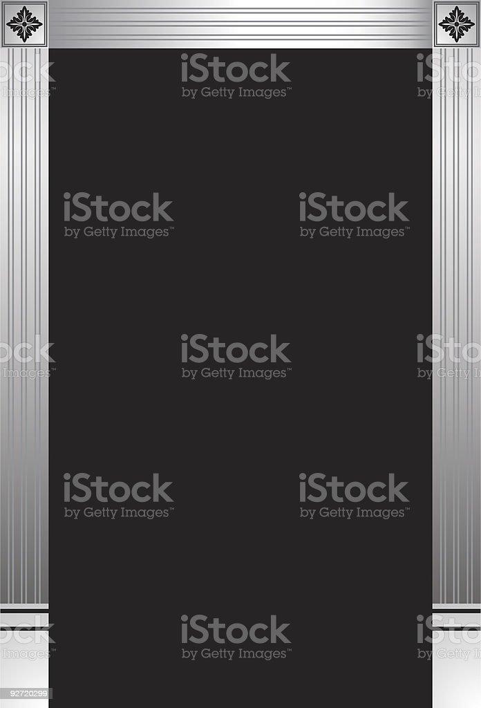 Decorative Doorway royalty-free stock vector art