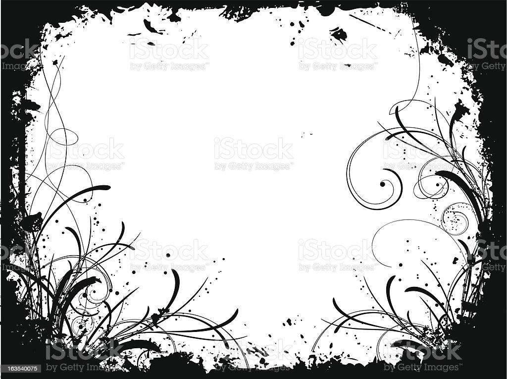 Decorative grunge royalty-free stock vector art