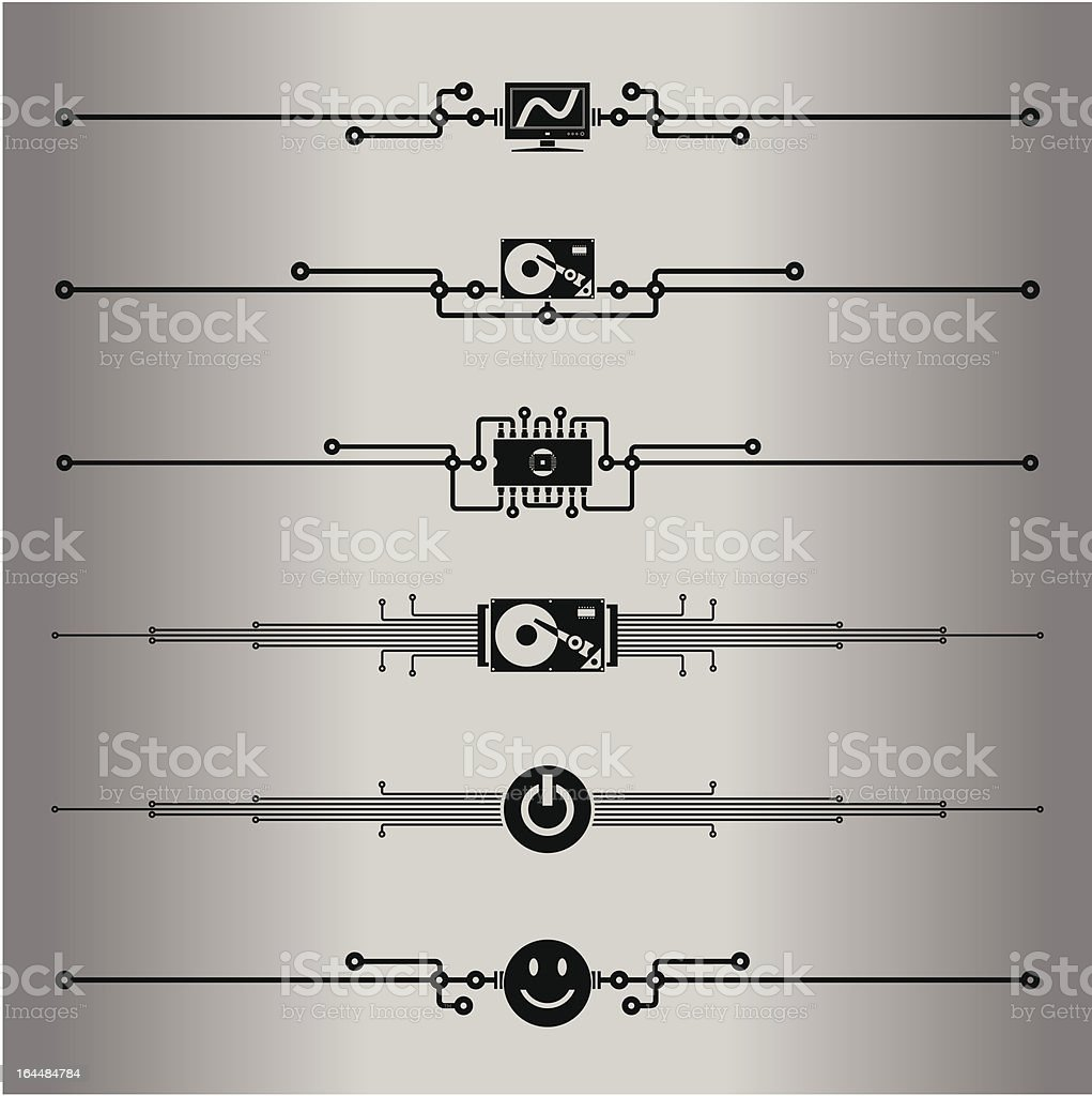 Decorative lines royalty-free stock vector art