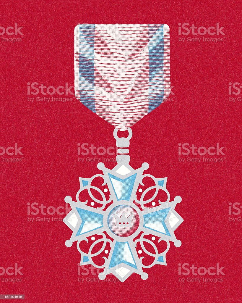 Decorative Medal royalty-free stock vector art
