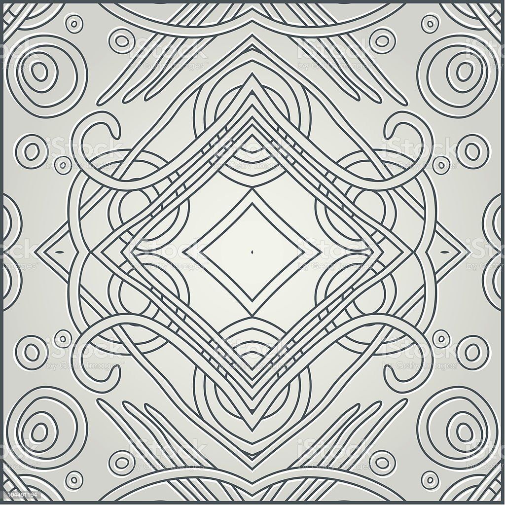 Decorative retro pattern royalty-free stock vector art