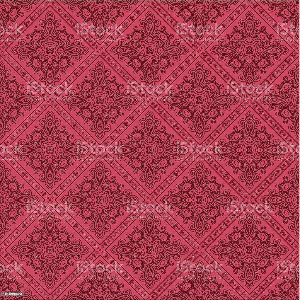 Decorative retro pattern royalty-free stock vector art