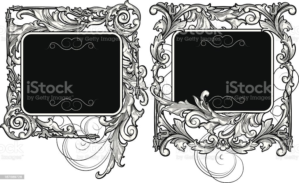 Decorative tags royalty-free stock vector art