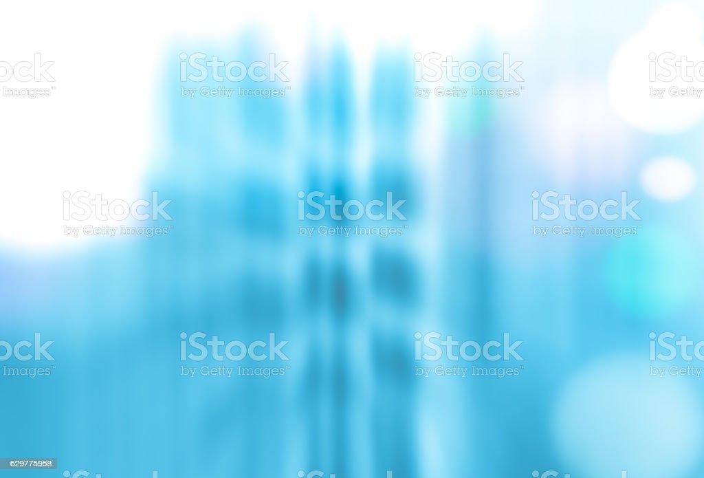 Defocused City Lights Background vector art illustration