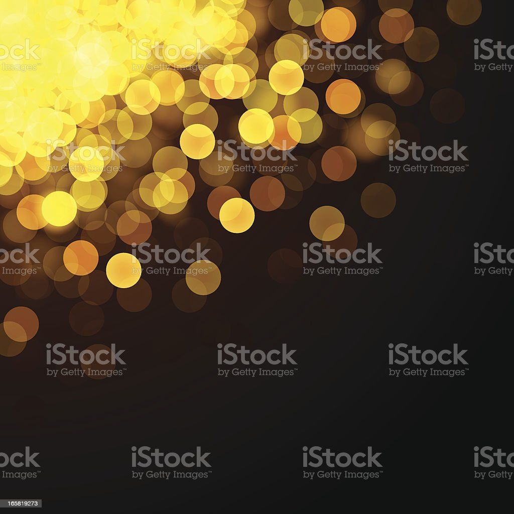 Defocused Lights royalty-free stock vector art