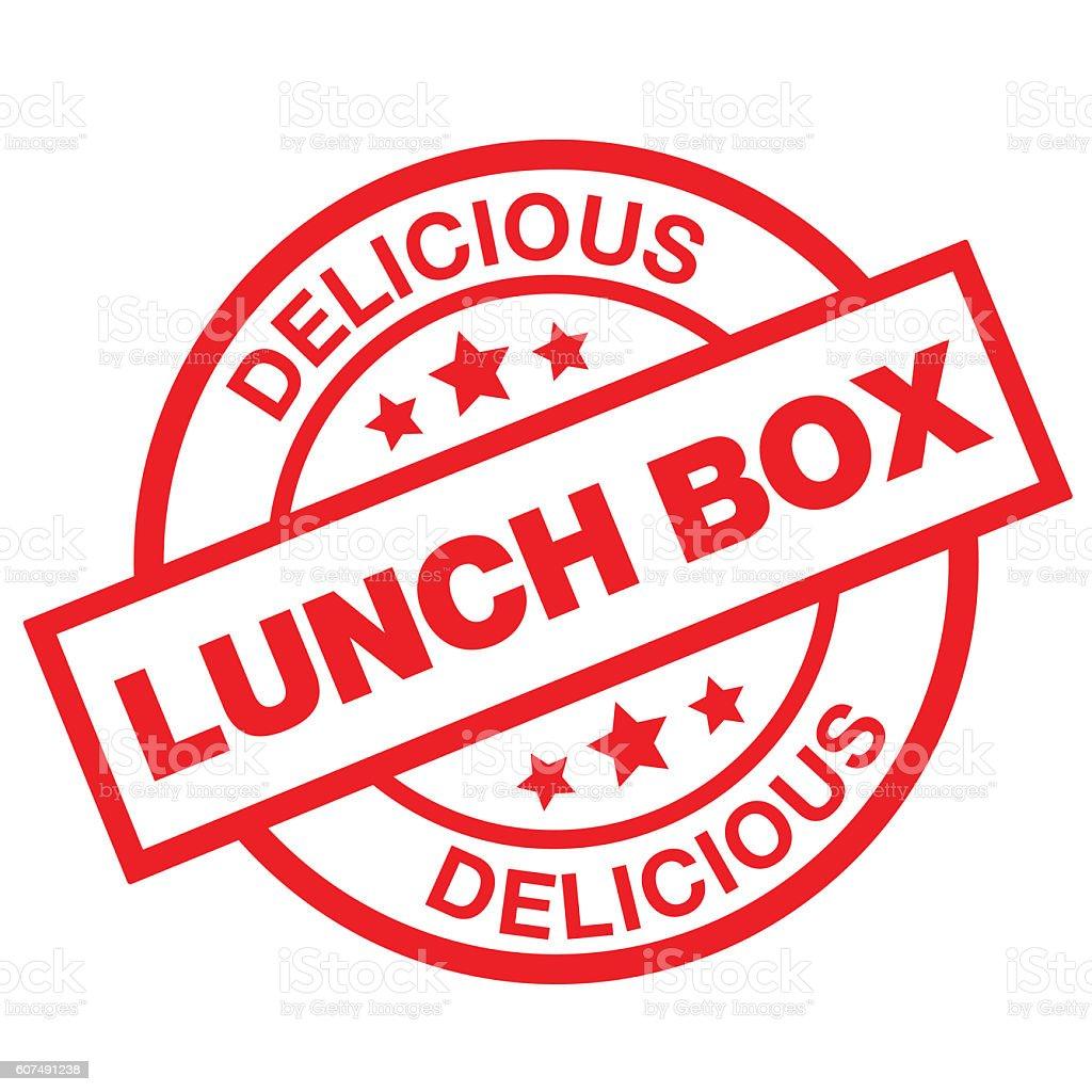 Delicious Lunch Box vector art illustration