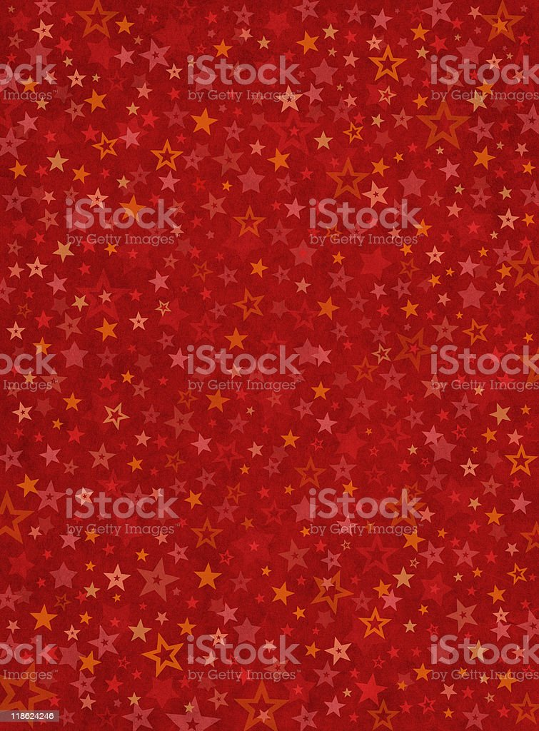 Dense Star Background vector art illustration