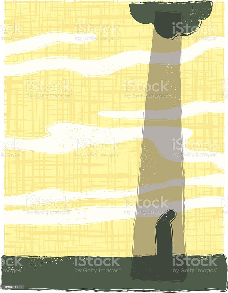 depression Downpour. royalty-free stock vector art