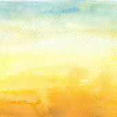 Desert - Watercolor Background