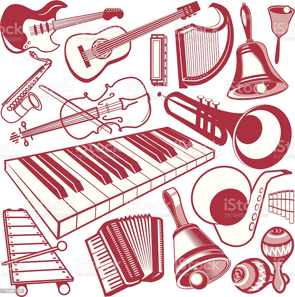 Design Elements - Instruments royalty-free stock vector art