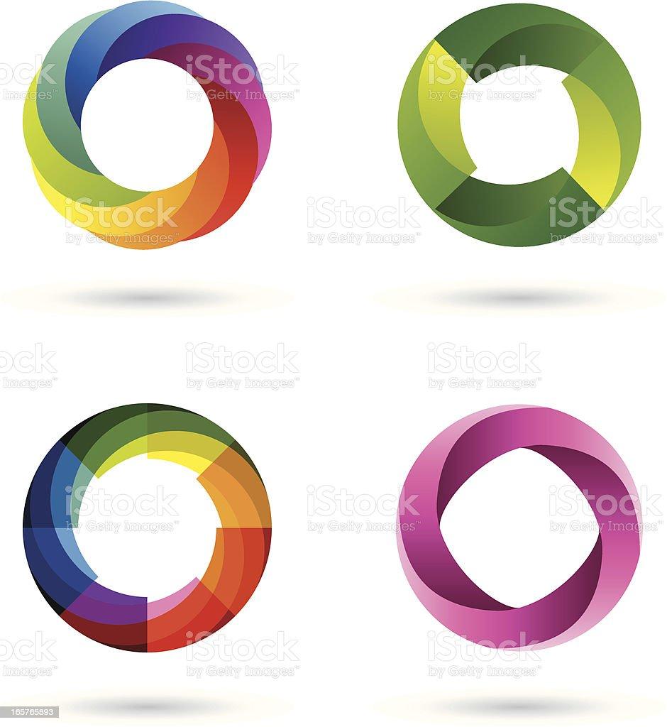 Design Elements   Symbols #3 vector art illustration