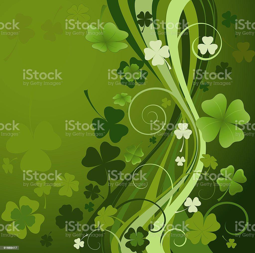 design for St. Patrick's Day vector art illustration