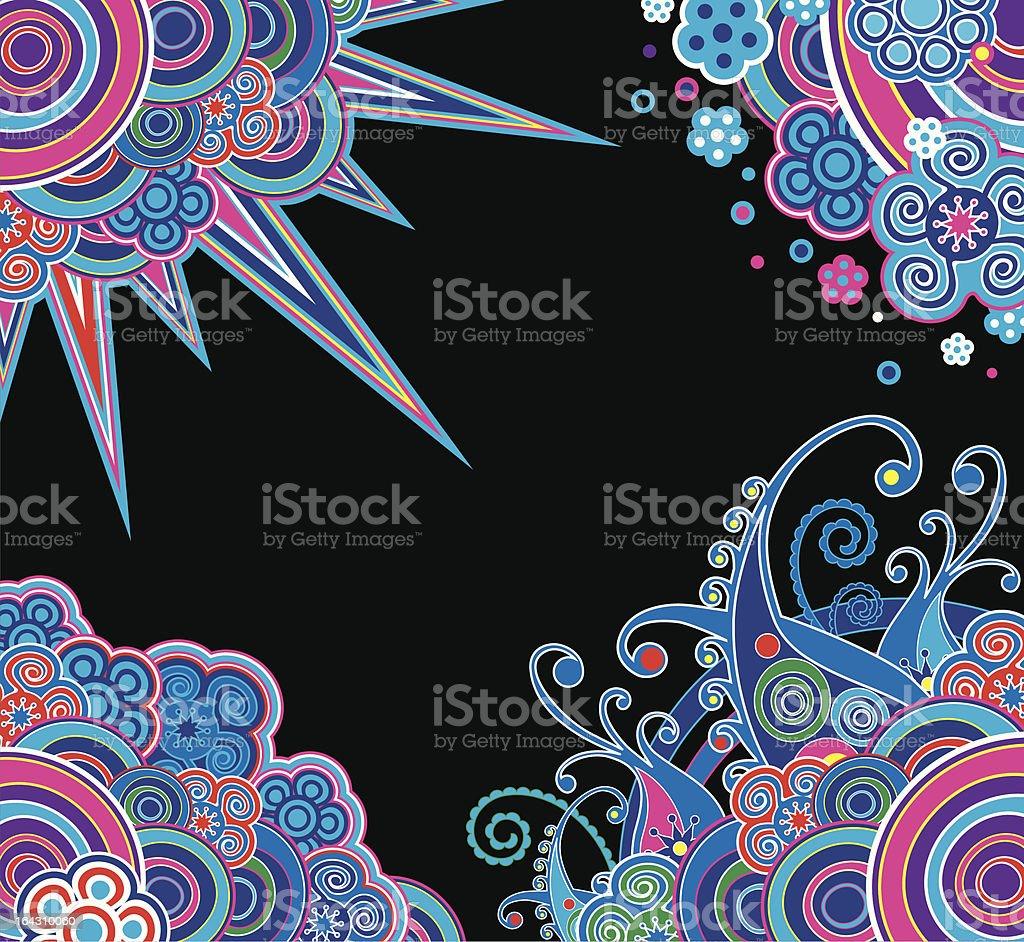Design of corners royalty-free stock vector art