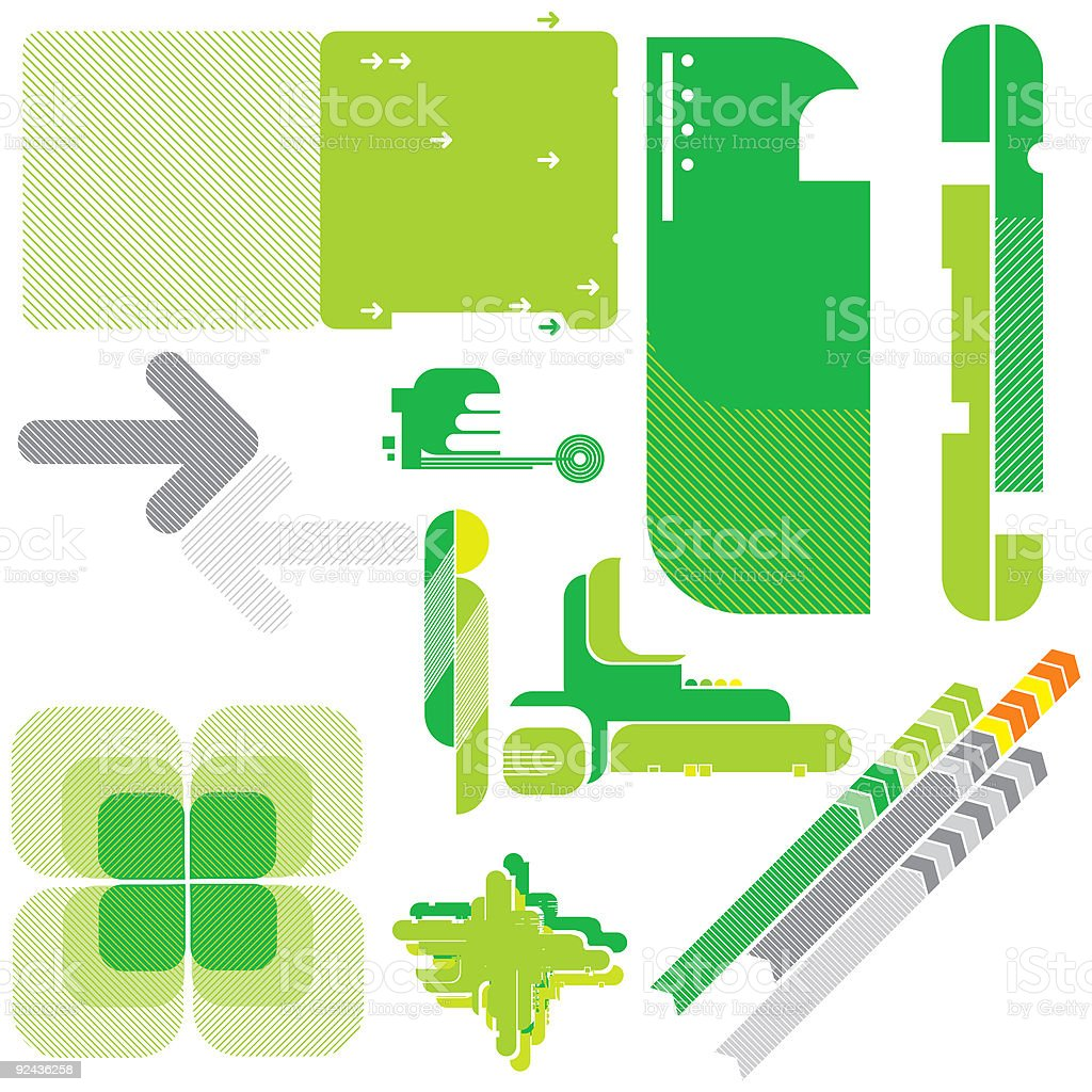 Design Toolbox 01 royalty-free stock vector art
