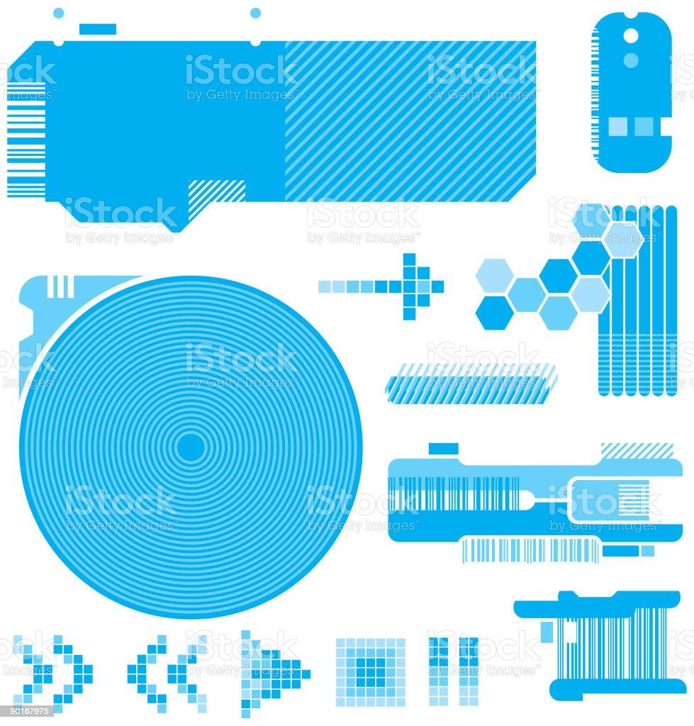 Design Toolbox 02 (Vector & JPG) royalty-free stock vector art