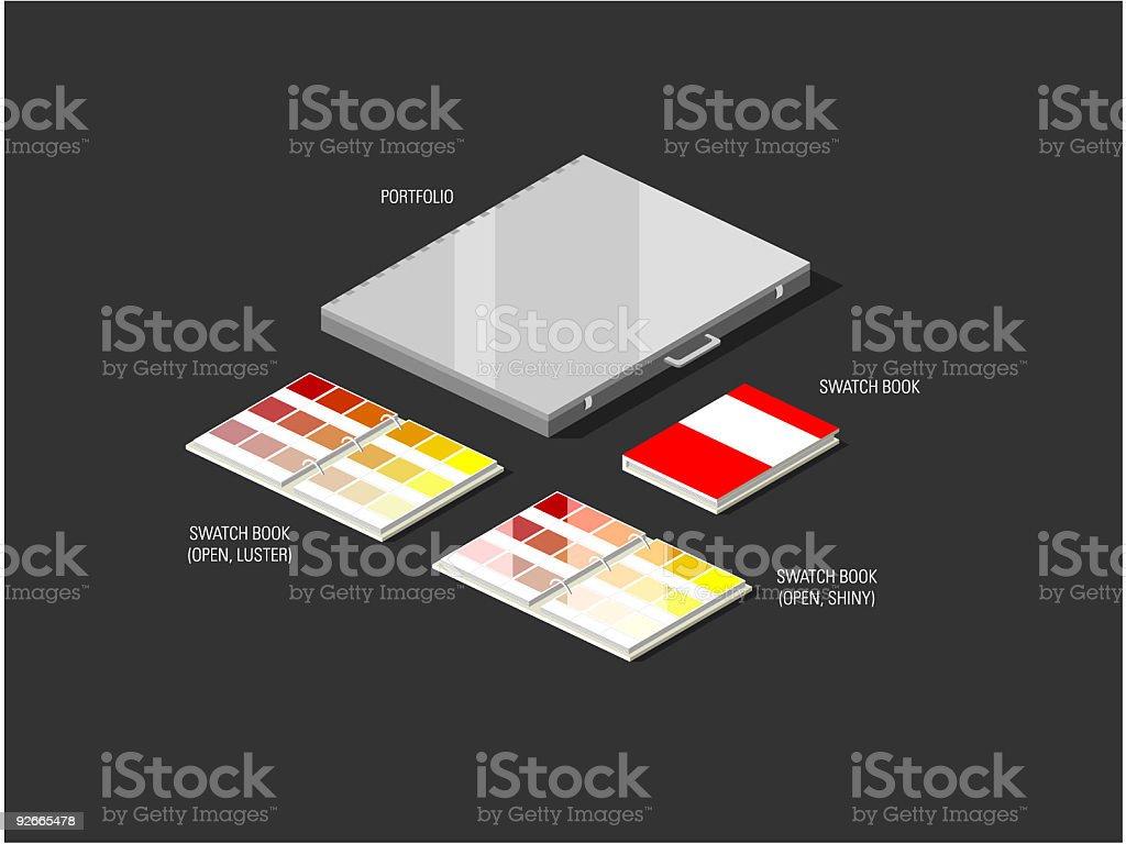 Designer Combo 2 vector art illustration