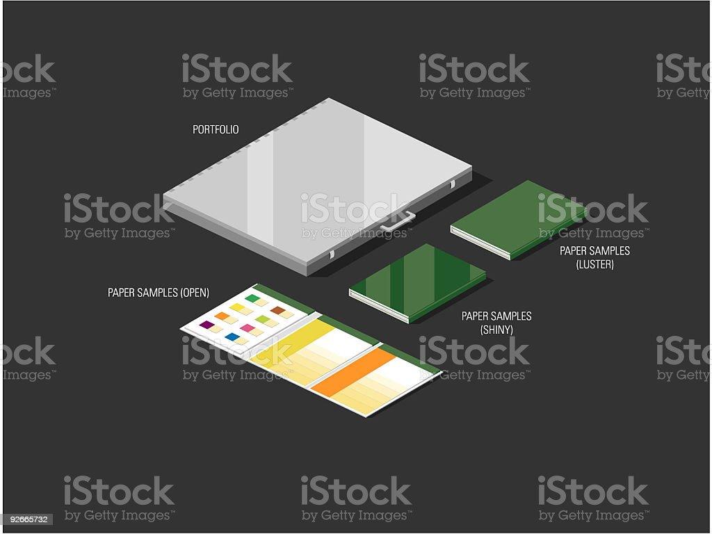 Designer Combo royalty-free stock vector art