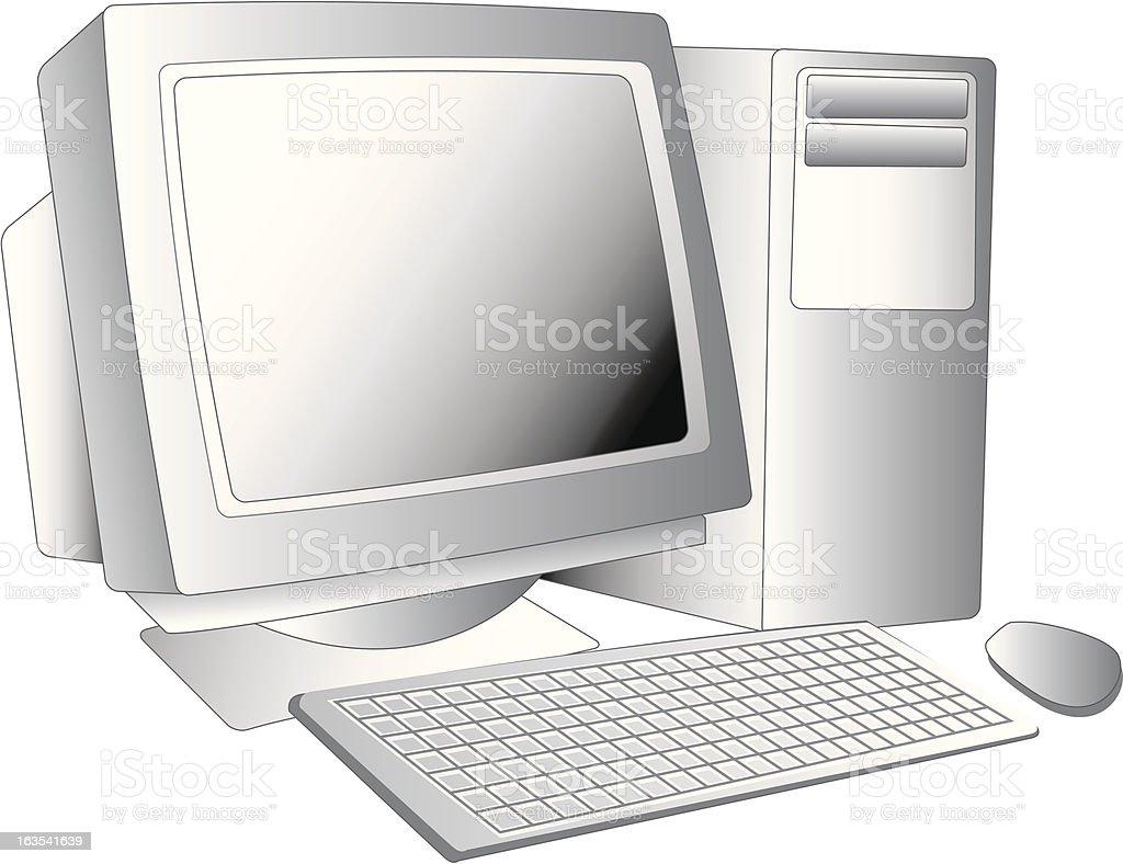 デスクトップコンピューター ロイヤリティフリーのイラスト素材