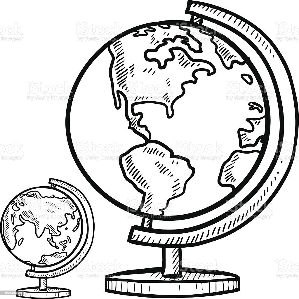 coloring pages world globe - photo#30