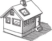 Detached House Drawing