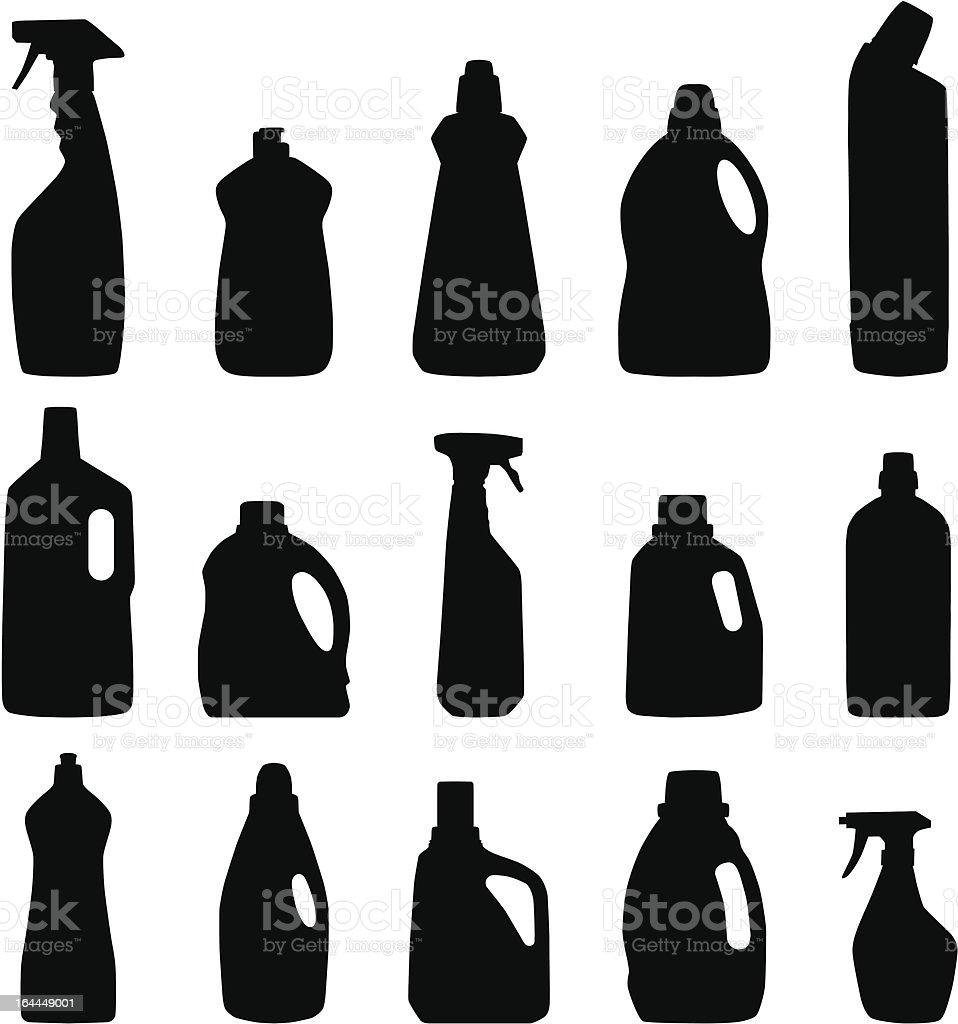 detergent vector art illustration