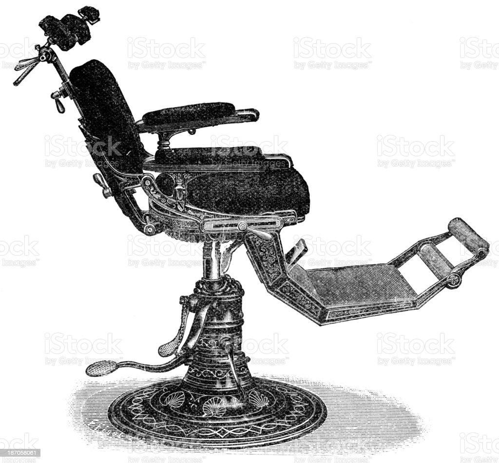 Detist Chair vector art illustration
