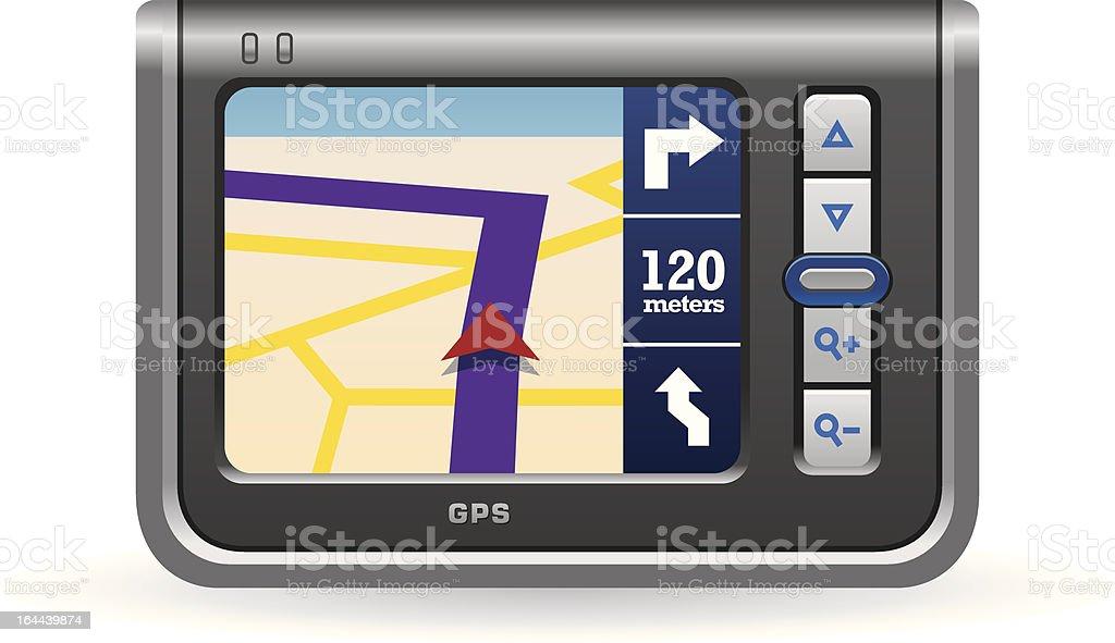 GPS Device royalty-free stock vector art