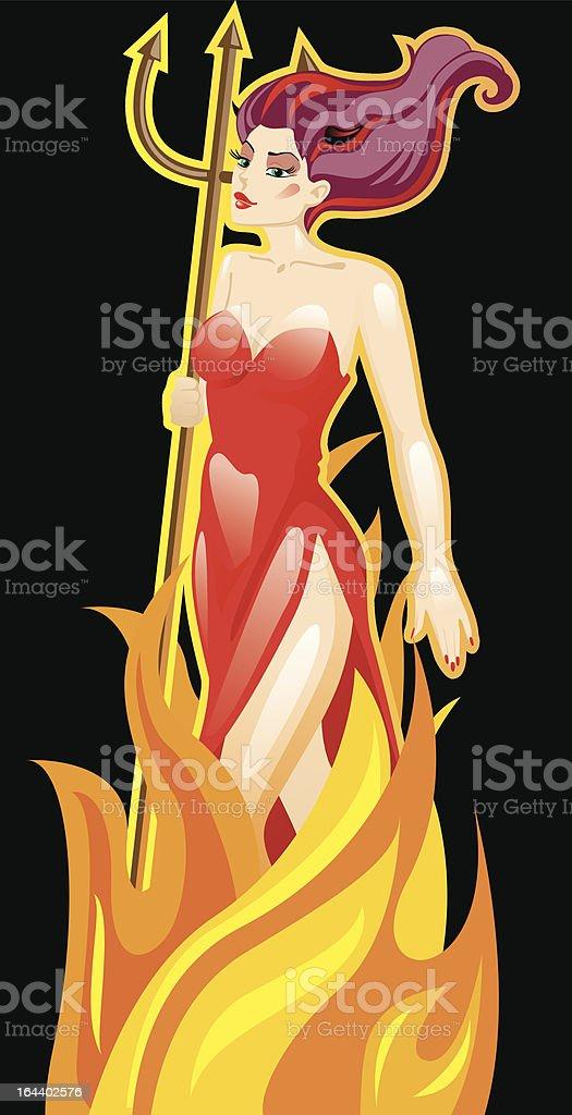 Deviless royalty-free stock vector art