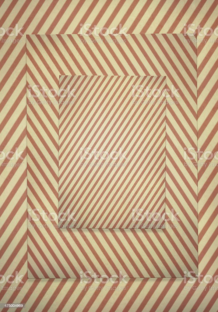 Diagonal striped pattern retro background. royalty-free stock vector art