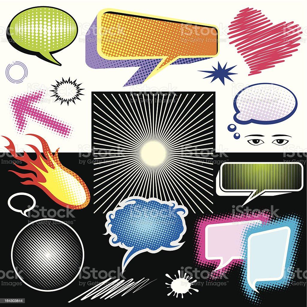 dialog symbol graphic vector art illustration