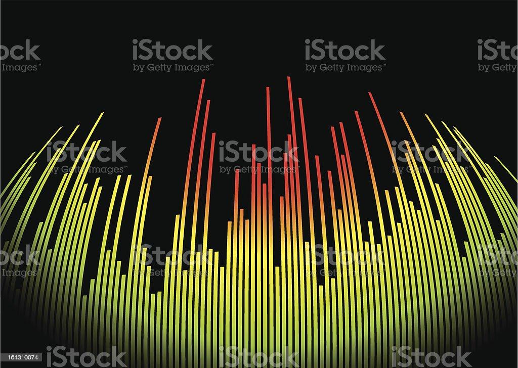 digit music hot royalty-free stock vector art