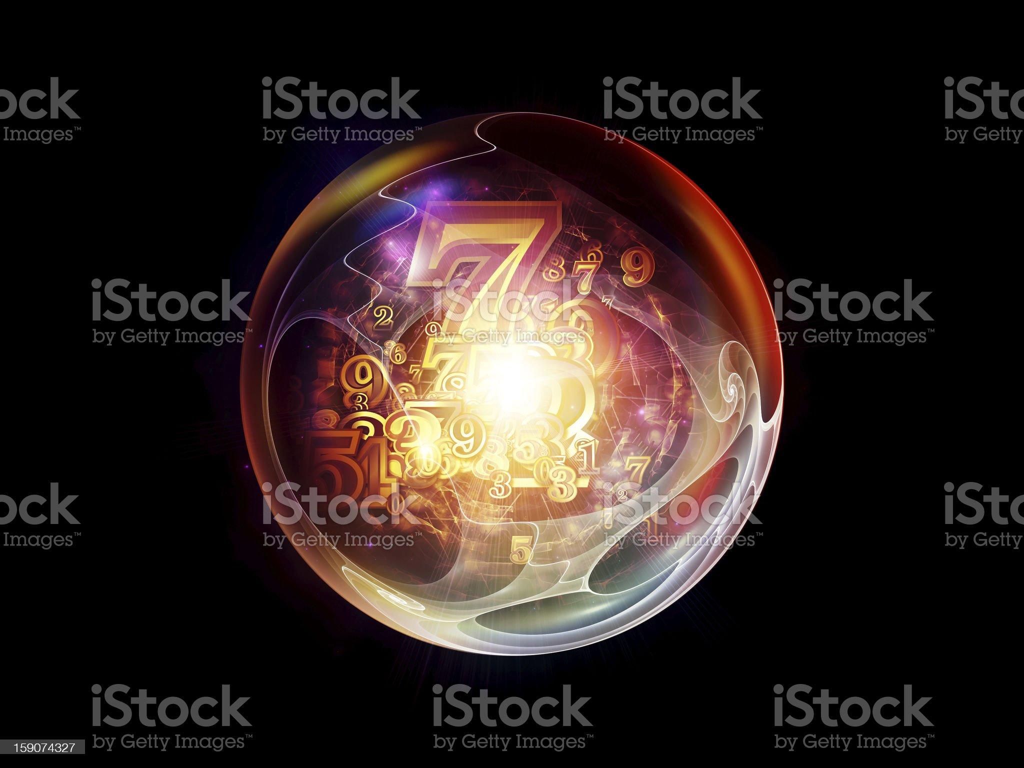 Digital Marble royalty-free stock vector art